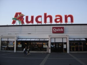 Exemple de magasin Auchan