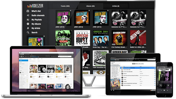 Application Deezer