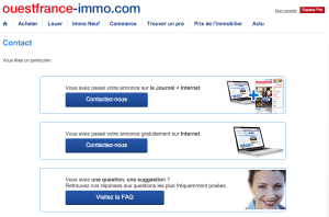 Contact Ouest France Immo