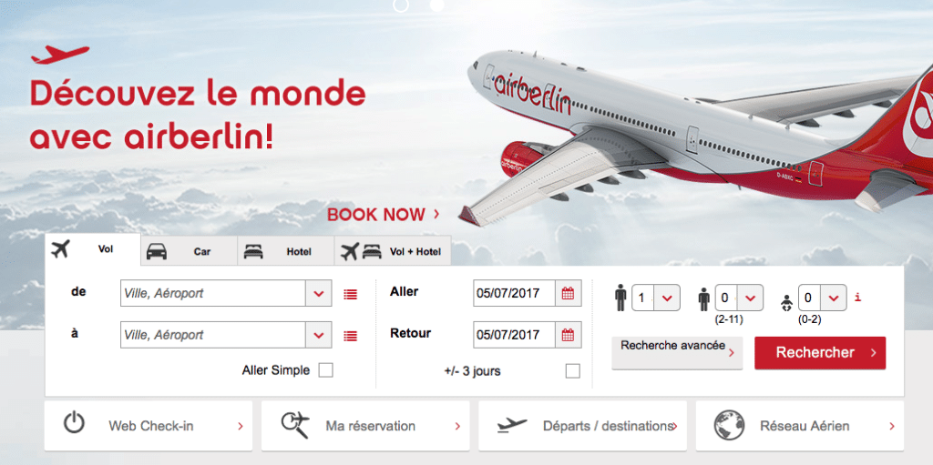 Site Air berlin