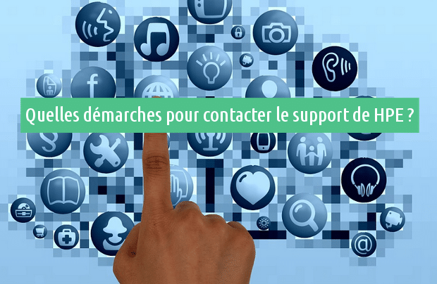 Contacter le suppport de HPE