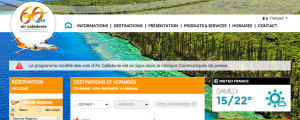 air caledonie site internet