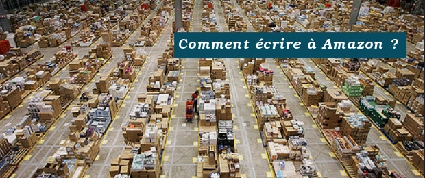 comment écrire à Amazon