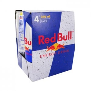 Canettes Red Bull
