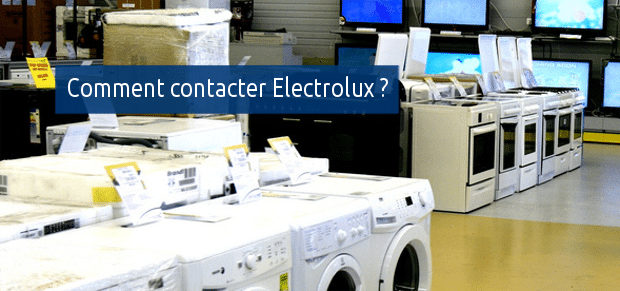 Comment contacter Electrolux ?