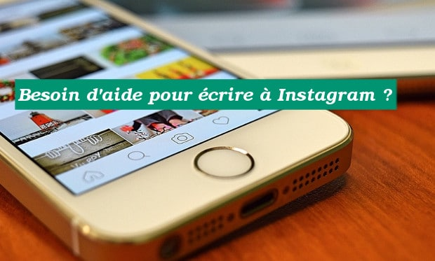 Contacter le support d'Instagram