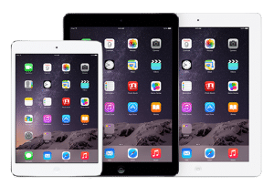 Tablettes ipad Apple