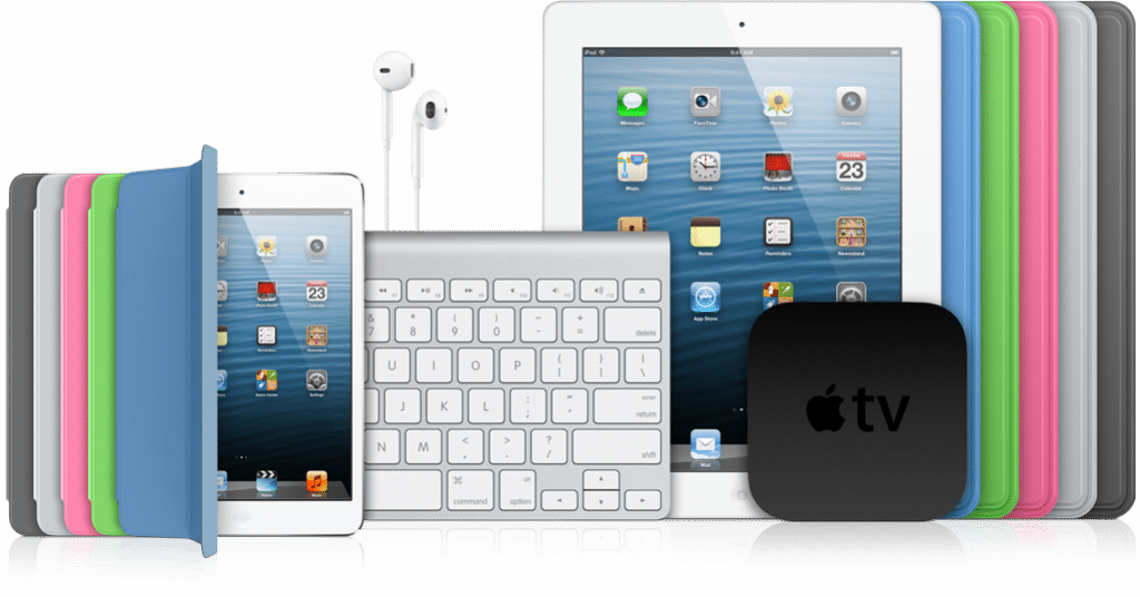 Tablettes iPad d'Apple