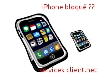 iphone bloque