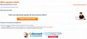 Pour contacter cdiscount