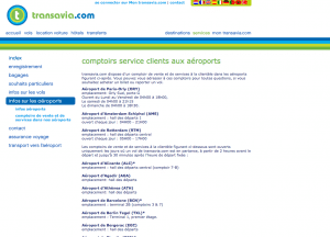 service client transavia contact telephone mail adresse