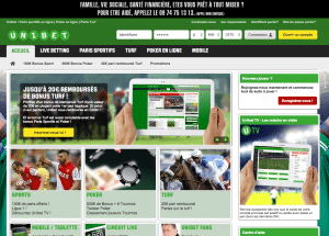 Site officiel Unibet.fr