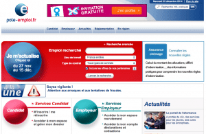 site internet pole emploi