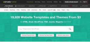Site internet Themeforest