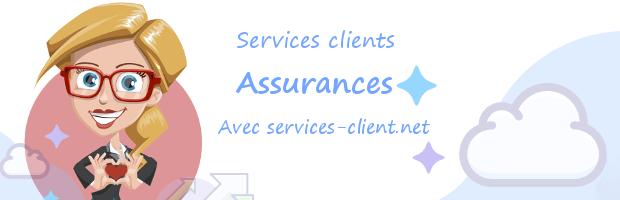 Aide pour contacter un service client Assurance