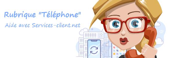 Aide pour contacter un service client Téléphone