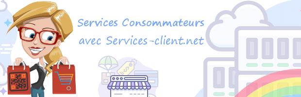 Aide pour contacter un service client Consommateur