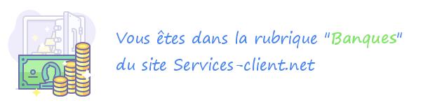Service client des banques