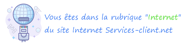 Services clients sur Internet