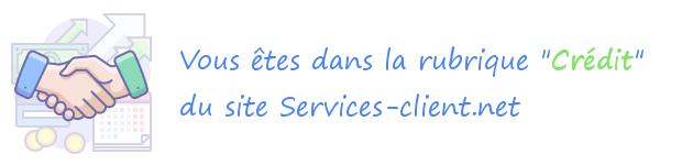 Service client Crédit