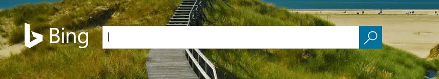 Barre de recherche Bing