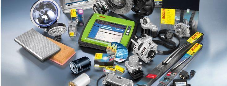 Exemple de produits Bosch Car Services