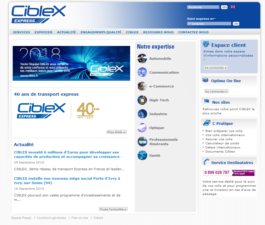 capture site ciblex