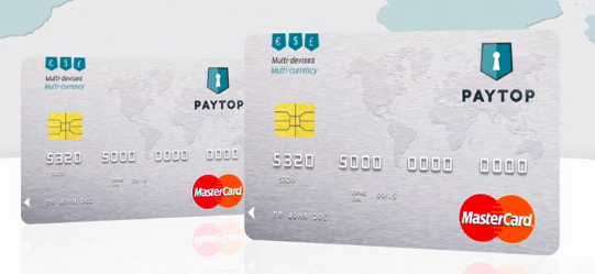 Carte Paytop