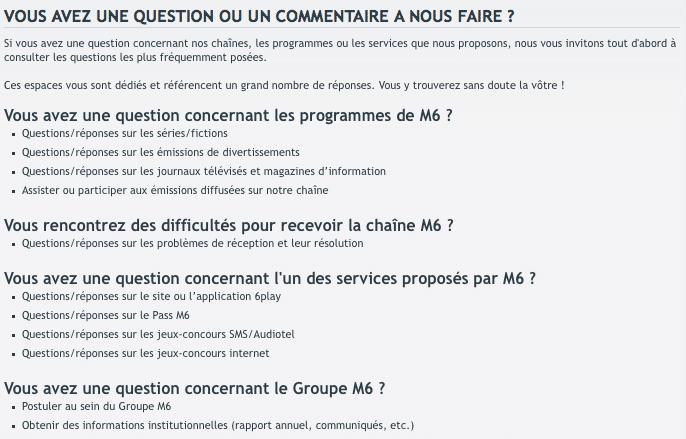 FAQ 6Play