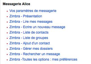 FAQ Alice