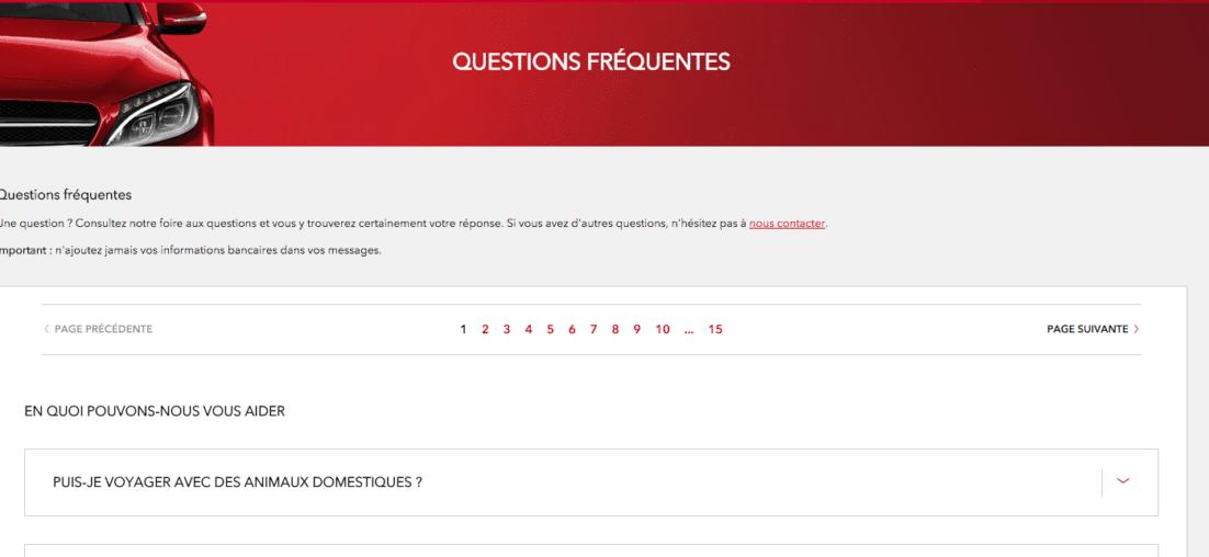 FAQ Avis