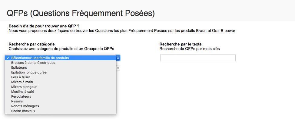 FAQ Braun