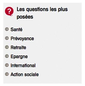 FAQ Humanis