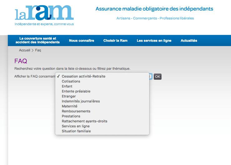 FAQ La Ram