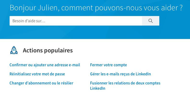FAQ LinkedIn
