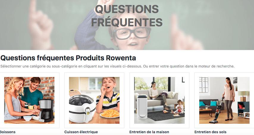FAQ Rowenta