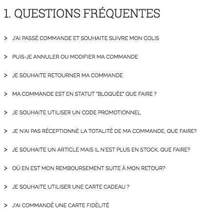 FAQ Sud Express