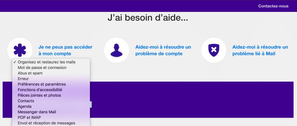 FAQ Yahoo