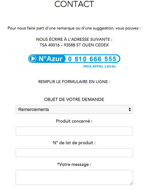 Formulaire Franck Provost