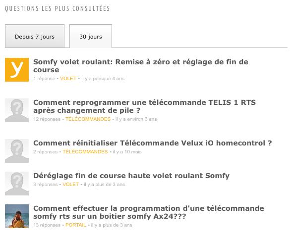 Forum Somfy
