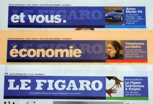 Journaux Le Figaro