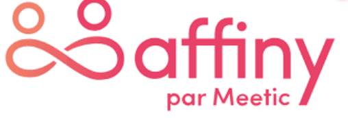 Logo Affiny par Meetic