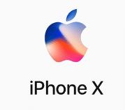 Logo Apple Iphone X