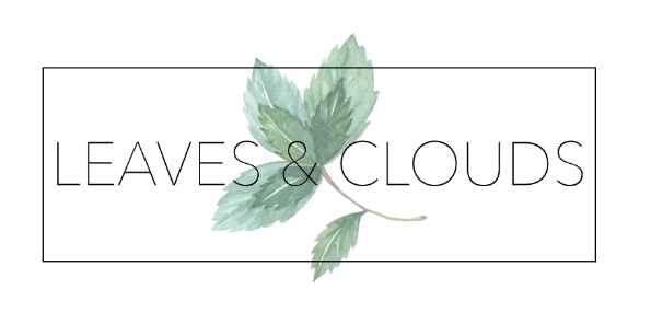 Logo Leaves and Clouds