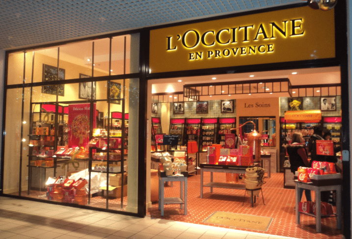 Magasin L'Occitane