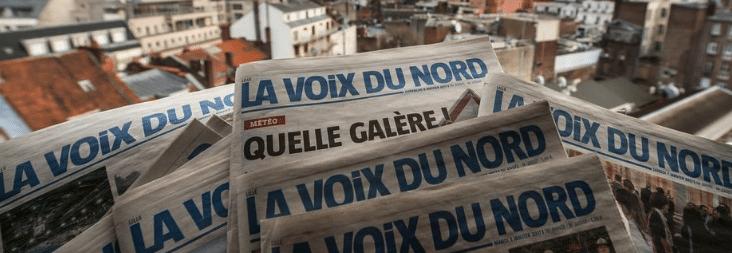 Photo journal La Voix du nord