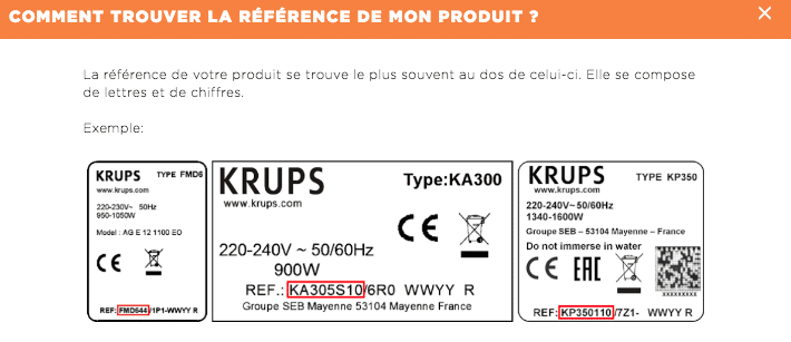 Reference Krups