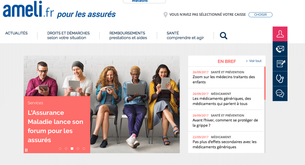 Site Ameli.fr