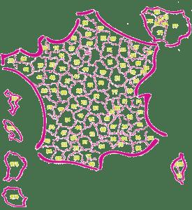 Agences de la Mutuelle Générale en France