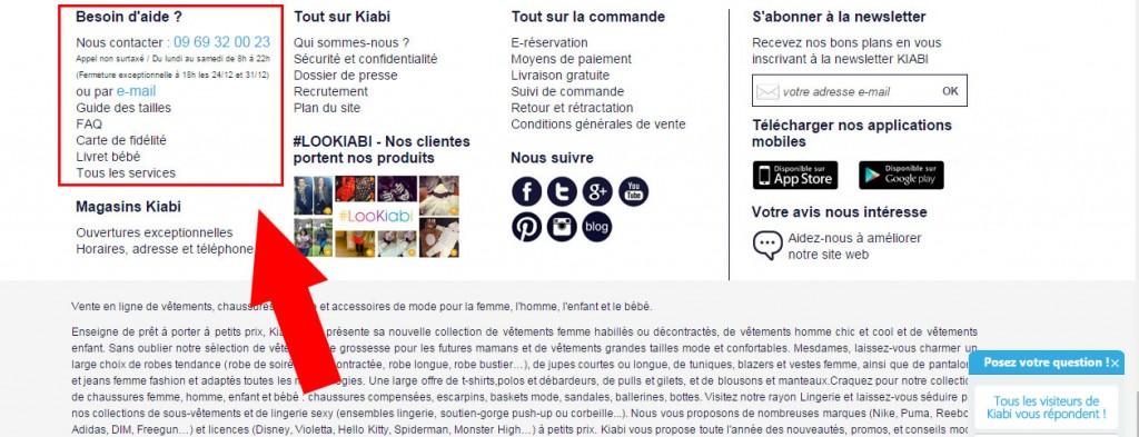 Carte Accord Kiabi.Service Client Kiabi Adresse Email Numero De Telephone